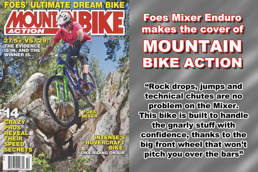 Mixer Enduro on the cover of MBA