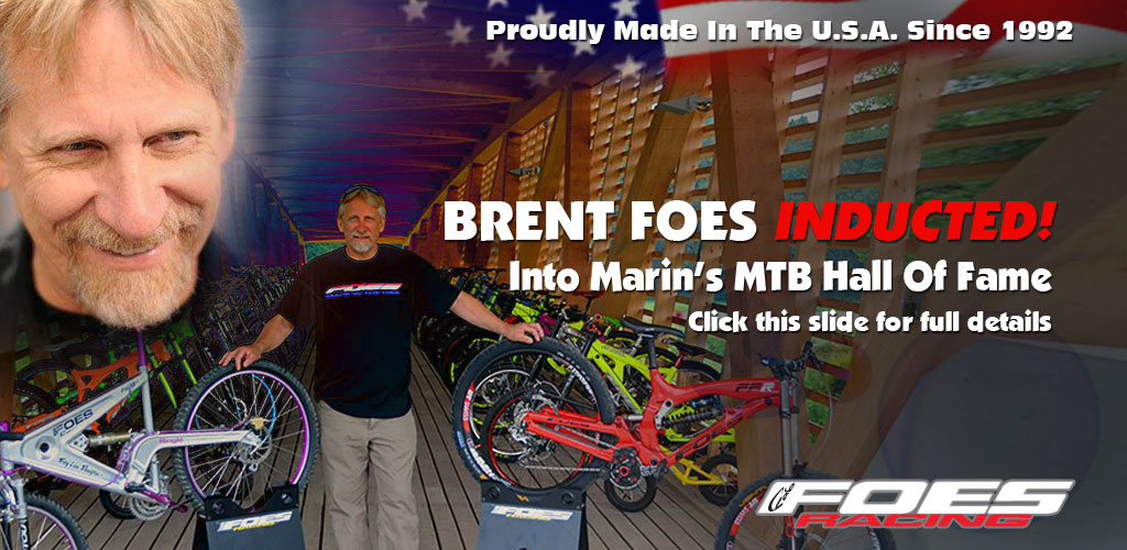 Brent Foes inducted into Marin MTB Hall of Fame